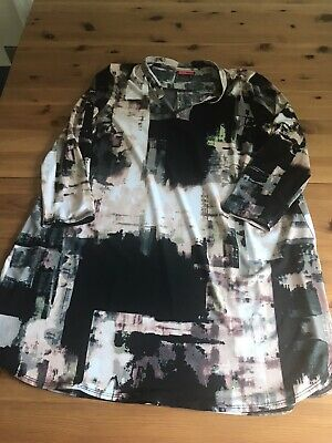AU10.28 • Buy Together Size S 12/14 Multi Patterned Long Tunic Top Short Dress