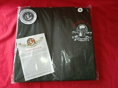 £1.99 • Buy QUEEN'S Royal Lancers T-Shirt British Army TEE TOP Cap Badge SIZE SMALL