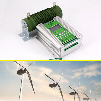 £117.91 • Buy LCD Wind Solar Hybrid Charge Controller MPPT Boost Charging Intelligent