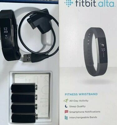 $ CDN35.88 • Buy Fit Bit Alta Smart Watch Activity Track Tested Working Band & Charger WARRANTY