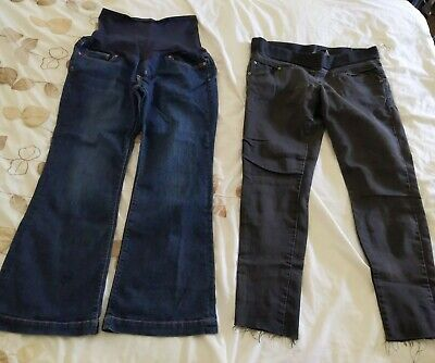£2.50 • Buy Maternity Jeans Size 10 - Gap And Dorothy Perkins