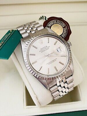 $ CDN6287.95 • Buy Men's Stainless Rolex Datejust 36mm Ref. 16030 Silver Dial ~Excellent Condition