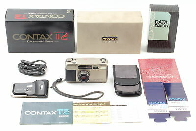 $ CDN1761.12 • Buy 【MINT++ In BOX】 CONTAX T2 Zeiss Sonnar 38mm F2.8 T* Lens W/ DATA BACK From JAPAN