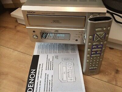 £79.99 • Buy Denon UD-M50 3 CD Player Tuner Amplifier System Inc Remote, Ariels. VGC