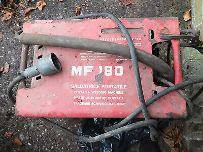 £80 • Buy Cebora MF180 Portable Arc Welder With Very Old Steel Trolley Table - See Photos