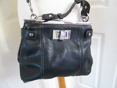 £9.99 • Buy MEXX Black Shoulder / Hand Bag With Removeable And Adjustable Strap