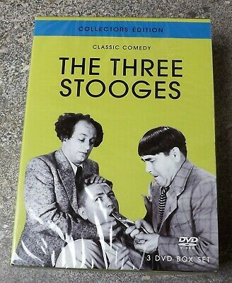 £18 • Buy The Three Stooges - Collectors Edition  DVD - 3 Dvd Boxset New Sealed