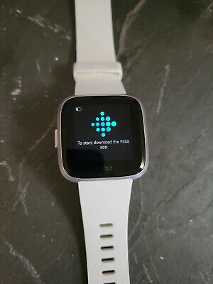 $ CDN50.29 • Buy Great Condition Fitbit FB415 Versa Lite Fitness Smartwatch - WhiteExtra Band