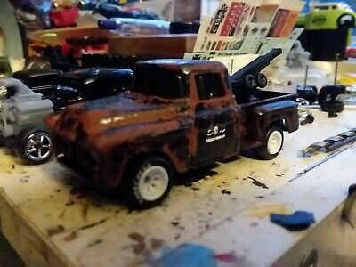 $7.95 • Buy Maisto 1957 Chevy Pickup☆ Rusted Rat Rod Tow Truck ☆ 1:64 Scale Rat Rod