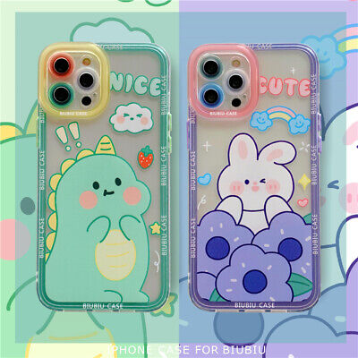 AU5.42 • Buy Cute Dinosaur Soft Silicone Phone Case For IPhone 12 Pro 11 Max XR XS 7 8 Plus