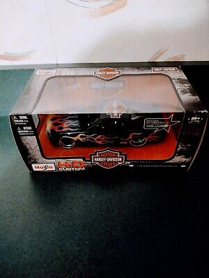 $15 • Buy Maisto 2006 Ford Mustang GT Harley Davidson 1:24 Scale Diecast Motorcycle Car