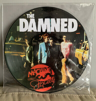 £44.99 • Buy The Damned- Machine Gun Etiquette 2007 Uk PICTURE DISC New In PVC Sleeve