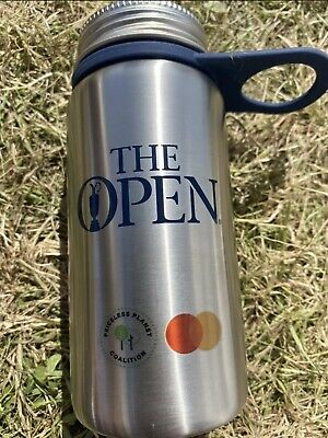 £22.50 • Buy 149th Open Golf Championship Water Bottle Flask Royal St George's 2021