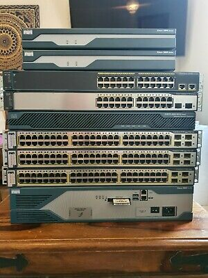 £100 • Buy Cisco Ccna Ccnp Lab 1841 & 2821 Router 3750 & 2960  Switchs & Asa 5510