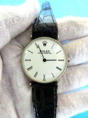 $ CDN1019.67 • Buy Antique Swiss Oyster Perpetual Vintage Rolex Military Watch Estate Find As Found