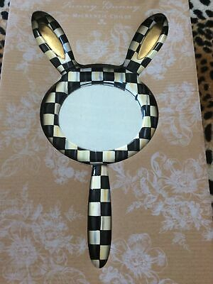 $65 • Buy Brand New Mackenzie Childs Courtly Check Funny Bunny Mirror