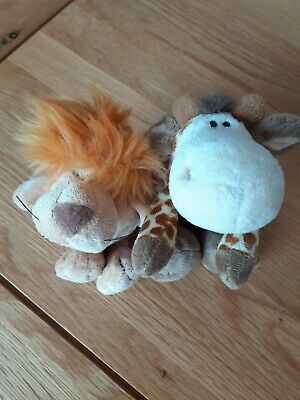 £5 • Buy Nici Stuffed Toy Lion & Giraffe - Excellent Condition
