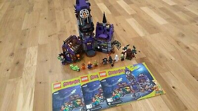 £99.99 • Buy LEGO Scooby-Doo Mystery Mansion Set (75904) - Near Complete With Manuals