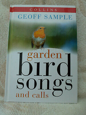 £2 • Buy Collins Garden Bird Songs And Calls By Geoff Sample - A Book And A CD
