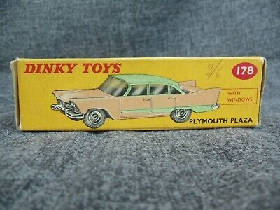 £8.50 • Buy Dinky 178 Plymouth Plaza ( Empty Box Only)