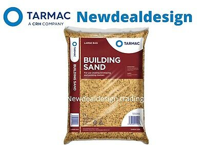 £11.99 • Buy Tarmac Building Sand Builders Polybag Approx 25kg Bricklaying General Mortar Mix