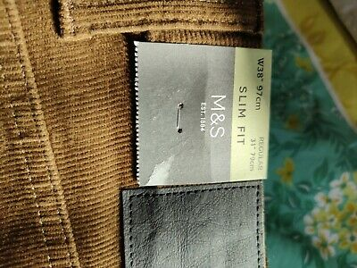 £5 • Buy Brown M&s Cord Trousers