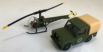 £28 • Buy Doctor Who Corgi Toys UNIT Set Land Rover Jeep & Helicopter Die Cast  Models