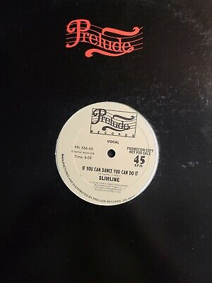 £5.19 • Buy Funk Disco 12  45 - Slimline - If You Can Dance You Can Do It - Prelude Promo NM