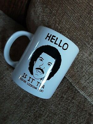 £6.99 • Buy  Hell-is It Tea You're Looking For?  - Lionel Richie Mug