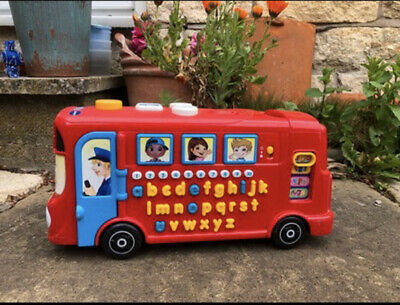 £4 • Buy Vtech Red Alphabet Musical Bus. Educational Toy Letters And Numbers