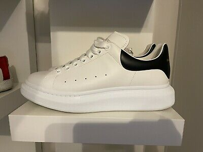 AU550 • Buy BNIB Alexander Mcqueen Sneakers Size 42. White And Black