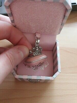 £36 • Buy Juicy Couture Charm - Queen Tiara Pillow - Boxed And Never Been On Bracelet