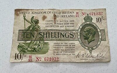 £13.21 • Buy A Ten Shilling Note * United Kingdom Of Great Britain & Ireland