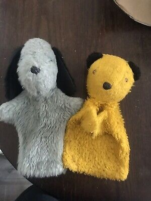 £3.50 • Buy Sooty And Sweep Hand Puppets