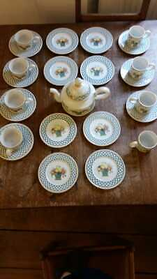 £250 • Buy Villeroy And Boch Basket Tea And Coffee Set In Very Good Condition
