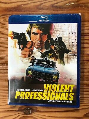 £16 • Buy The Violent Professionals. Sergio Martino. New, Region A, Code Red Blu Ray