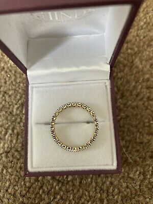 £125 • Buy 9CT Yellow Gold Full Eternity Ring Size R