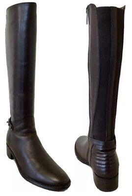 £65 • Buy Aquatalia Brown Leather Orchid-Dry Knee High Riding Boots Size 37 UK 4