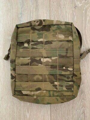 £6.10 • Buy British Army MTP Large Zipped Molle Utility Pouch Vertical - British Made