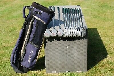 AU49.10 • Buy Full Set  Men's Matching HOWSON Golf Clubs Irons Woods Putter And Hippo Bag R/H