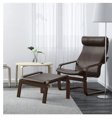 AU40 • Buy Leather Ikea Armchair, With Footstool. Looked As Listed Above When Bought.