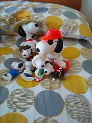 £9.99 • Buy 7 Snoopy McDonalds Toys Vintage Macdonalds. Great Condition