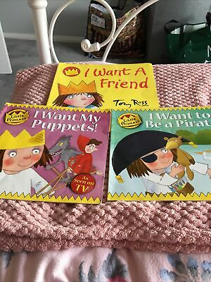 £0.50 • Buy 3 X Childrens Little Princess Books By Tony Ross Titles In Description