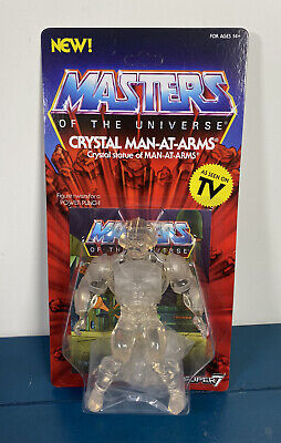"""$39.99 • Buy 2019 Super7 -  Masters Of The Universe 5.5"""" Retro Figure: CRYSTAL MAN-AT-ARMS"""