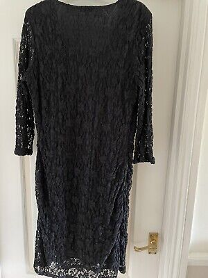 £10 • Buy Kaliko  Size 16 Black Lace Dress New Without Tags