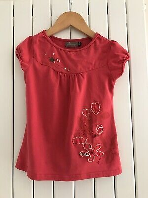 £4.50 • Buy Jean Bourget Girls Red Shirt 6 Years/ 116cm (Immaculate)
