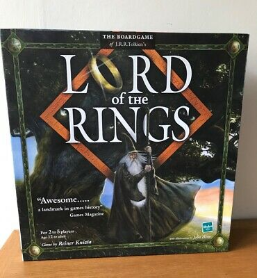 £21.95 • Buy Lord Of The Rings Board Game Parker Hasbro Games 2000