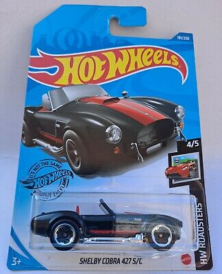 £3 • Buy Hot Wheels Shelby Cobra 427 S/c, Long Card, Black/red, Awesome!!!