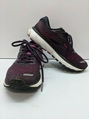 $ CDN57.84 • Buy Brooks Womens Ghost 12 1203051B063 Purple Black Running Shoes Lace Up Size 5.5