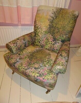 £300 • Buy M&S Grove Armchair Chair Watercolour Painting Design Floral Chair